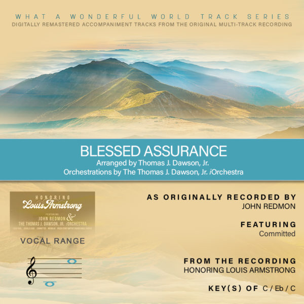Blessed Assurance Track
