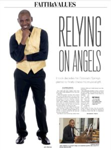Latest News and Updates : John Redmon Relying on Angels Gazette Article