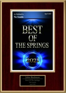 Best of The Springs Award